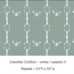 Casart_Crawfish-Cotillion White Celadon 2_9x