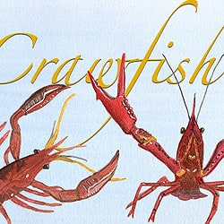 Casart coverings_Element: Crawfish no.11 – Gulf Coast Design