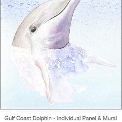 Casart_Gulf Coast Dolphin_Panel water_2x