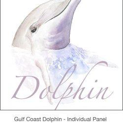 Casart_Gulf Coast Dolphin Panel white & wording_3x