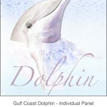 Casart_Gulf Coast Dolphin_Panel water & wording_4x