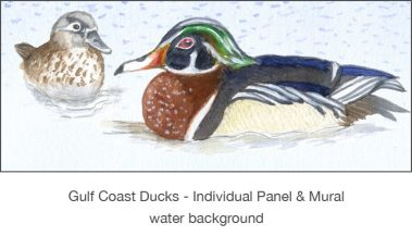Casart_Gulf Coast Ducks_Panel water_2x