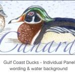 Casart_Gulf Coast Ducks_Panel water & wording_4x