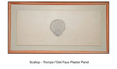Casart_Faux Plaster Scallop Faux Panel Detail_3x