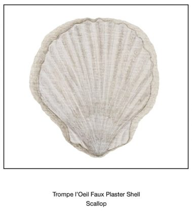 Casart_Faux Plaster Scallop Shell Element Detail_3x