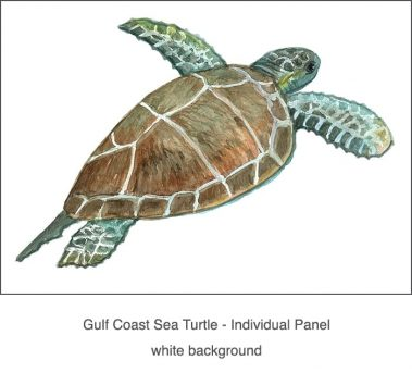 Casart Coverings_Gulf Coast Sea Turtle white_1x
