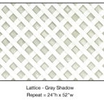 Casart_Gray lattice_Architectural_1x