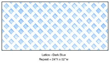 Casart_Dark Blue Lattice Architectural_3x