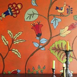 Kristin Nicholas - Garden of Family Farm Life Pasture_Casart coverings temporary wallpaper