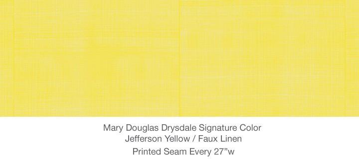 Casart MDD Mary Douglas Drysdale Signature Color Jefferson Yellow Casart Faux Linen 1x