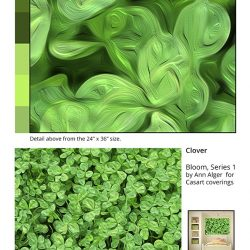 Casart coverings_Ann Alger sample2-Clover_temporary wallpaper