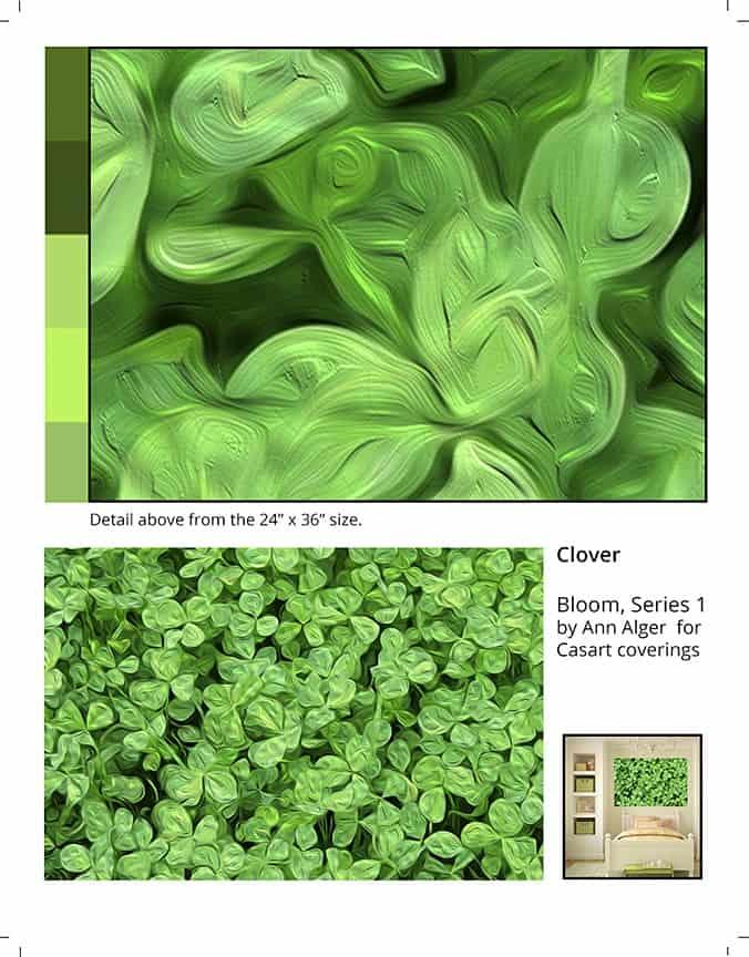 Casart Coverings_Ann Alger sample2-Clover_temporary wallpaper