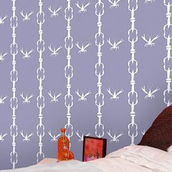 Casart removable wallpaper - Crawfish pattern