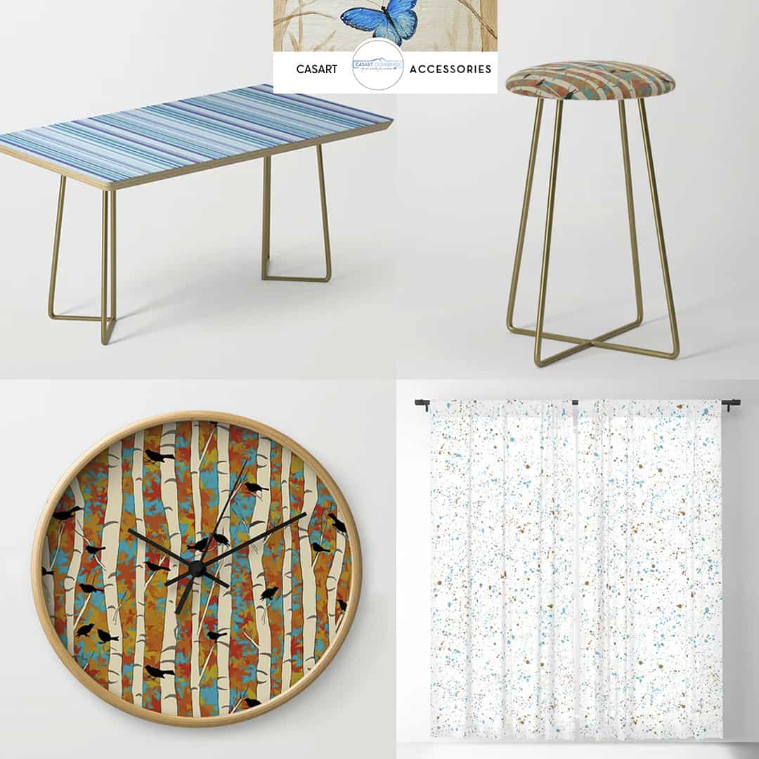 Casart Decor Birds and Birch Spring Sing Collection Accessories