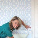 Libby Langdon with Lively Lattice for Casart coverings