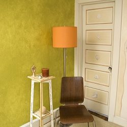 Casart coverings_Lime Colorwash_370x400_Rm View_feature_temporary wallpaper