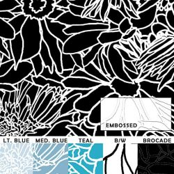 Casart Neutral Flower Power - Botanicals Sample 1