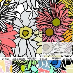 Casart Bold Flower Power - Botanicals Sample 2