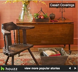 Mary Douglas Drysdale Signature Color removable wallpaper for Casart Coverings on Houzz