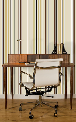 Casart coverings neutral stripes combo temporary wallpaper