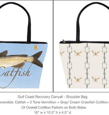 Casart Catfish Cotillion Gulf Coast Carryall