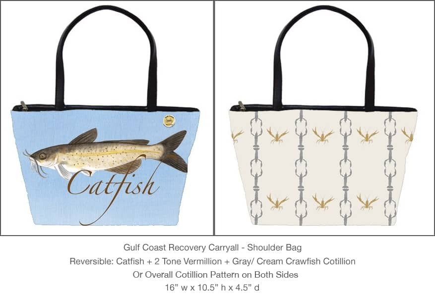 Casart Catfish Cotillion Gulf Coast Carryall