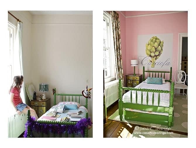 Casart Artichoke Composite tween room