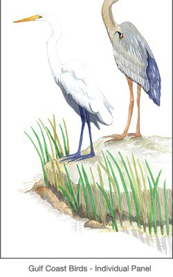 Casart coverings Gulf Coast Egret Birds_1x