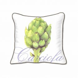 Casart Decor_Artichaut Botanical Accents pillow slipcover