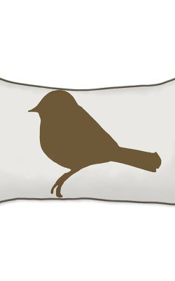Casart Decor_Mocha Birds Birch Animalia Accents_br-A_12x20-w_pillow slipcover