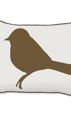 Casart Decor_Mocha Birds Birch Animalia Accents_br-A_14x18-w_pillow slipcover