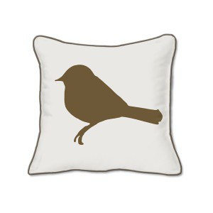 Casart Decor_ Birds & Birch Animalia Accent pillow slipcover