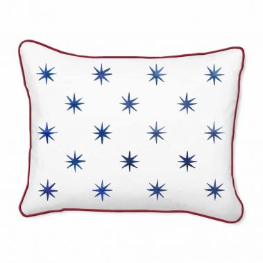 Casart Decor_Blue Stars-A_14x18 pillow slipcover
