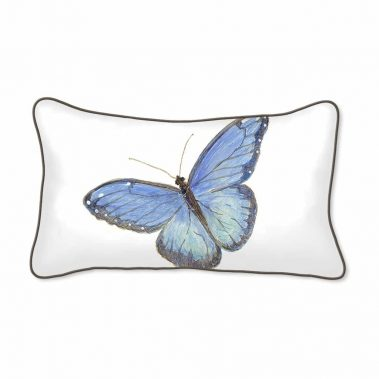 Casar Decor_Butterflies Animalia Accent_12x20-w front_pillow slipcover