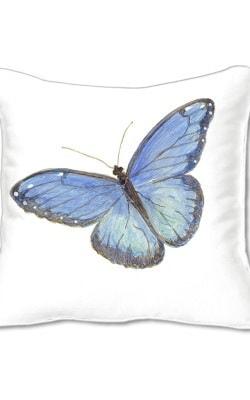 Casart Decor Butterflies Animalia Accents pillow slipcover
