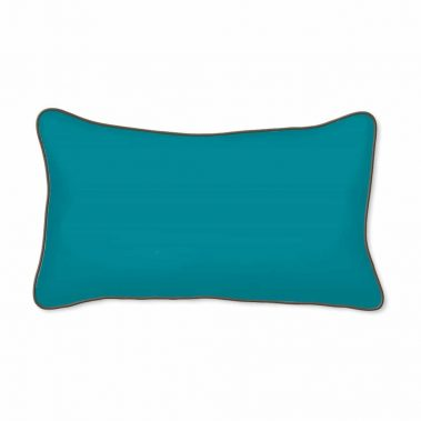 Casart Decor_Butterfly_turqsolidback-12x20 Pillow-w
