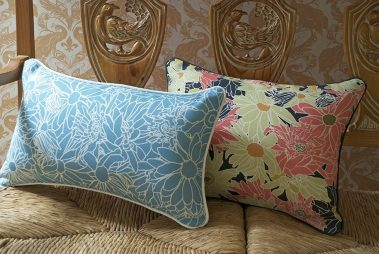 Casart coverings_Flower Power Pillows_french bench_0023_web