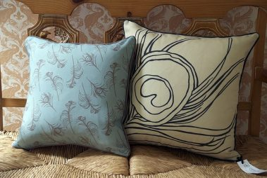 Casart coverings_Reversible Mix-n-match Quill Pillow_french bench3