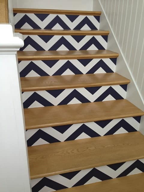 Casart coverings_ Libby Langdon Chevron 3-customer gallery