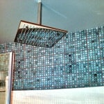 Casart Feature_Bathroom Faux Mosaic Tile in Shower-customer gallery