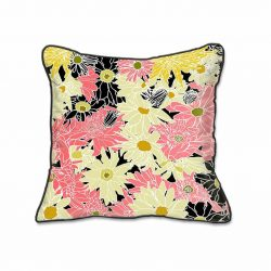 Casart Decor_Flower Power Botanical Accents pillow slipcover