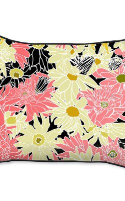 Casart Decor_Flower Power1_14x18-w_pillow slipcover