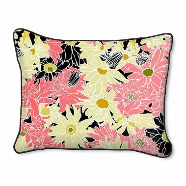 Casart Decor_Flower Power1_14x18-w_pillow slipcover