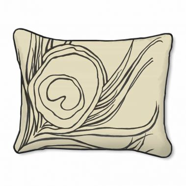Casart Decor Quill Animalia Accents__Down Anise-A_14x18-w_pillow slipcover