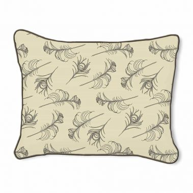Casart Decor_Quill-Pattern-DA-B_14x18-w_pillow slipcover