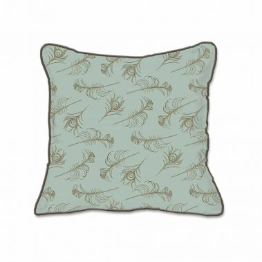 Casart Decor_Quill Animalia Accents_SageCin-B_SQ-w_pillow slipcover