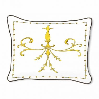 Casart Decor_Grotesca Scroll-A_14x18 pillow slipcover