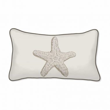 Casart Decor_Starfish Coastal_A_12x20-w_pillow slipcover