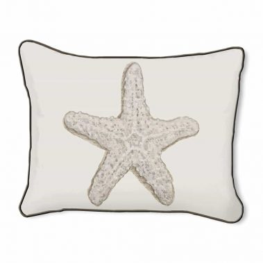 Casart Decor_Starfish-A_14x18-w_pillow slipcover