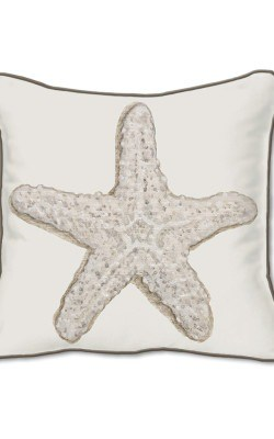 Casart Decor_Starfish Coastal-A_SQ-w_pillow slipcover